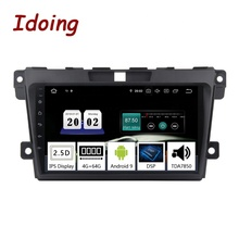"Idoing 9 ""2.5D Auto Radio Multimedia Android 9.0 Video Player Navigation <span class=keywords><strong>GPS</strong></span> Für Mazda Cx-<span class=keywords><strong>7</strong></span> cx7 cx <span class=keywords><strong>7</strong></span> 2008- 2015 4G + 64G KEINE 2 Din DVD"