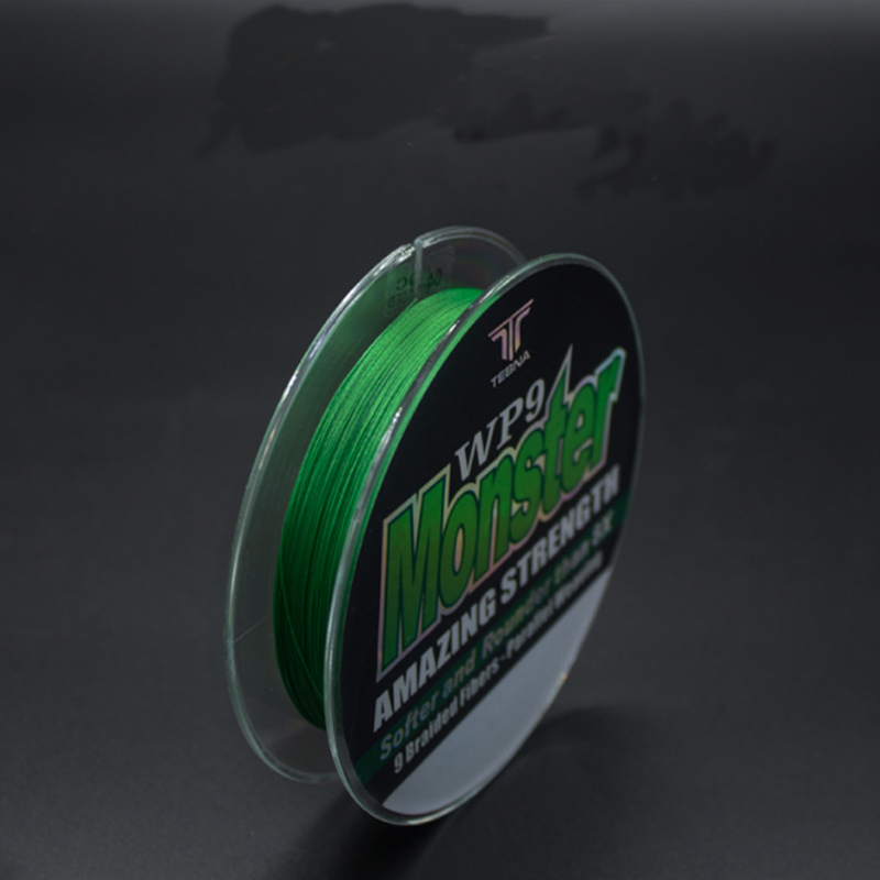100m Per Spool Super Strong PE 9 Weaves Stands Braided Fishing Line