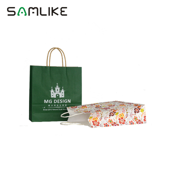 Guangzhou Manufacture Custom Print Different Types New Design Luxury Company Names Of Paper Bags