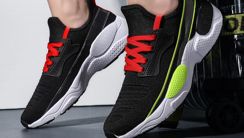 Zapatillas deportivas Nk Joyride para exteriores, cojín de malla transpirable antideslizante con amortiguadores, sin logotipo