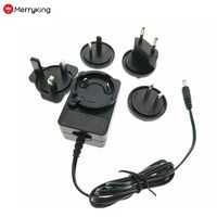 Interchangeable Mains Connectors switching power supply 12V 2A ac adapter