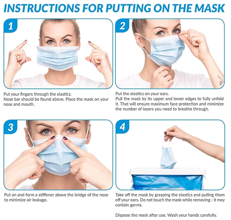 Hot Selling Qualified Face Disposable Surgical Mask Wholesale