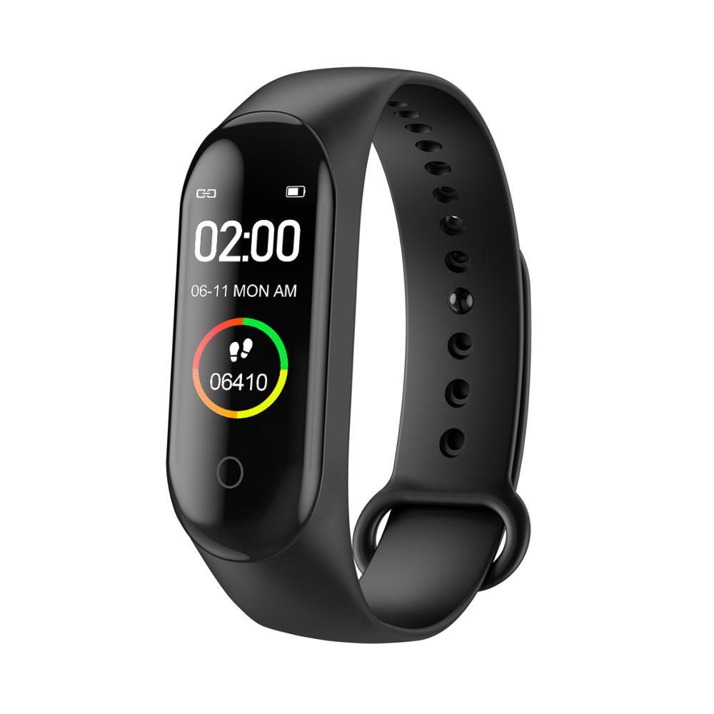 Best Selling Watch M4 Smartwatch Fitness Fit bit Colorful Band 4 Bracelet Smart Watch Reloj Inteligente