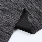 High quality knit 100% polyester cationic single jersey bonded super soft knitted plush fabric