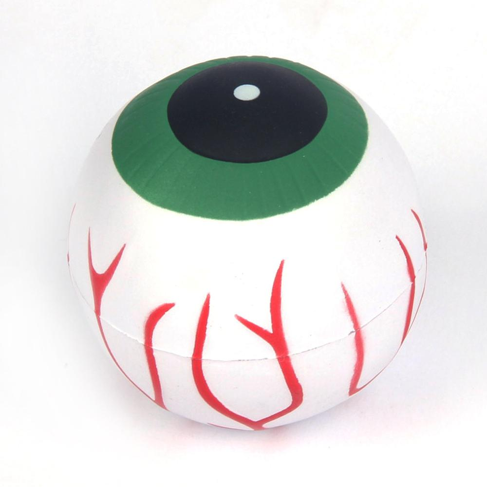 Custom gratis monster orgel eye stress ballen geen minimum anti-stress educatief speelgoed voor kinderen
