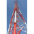 100ft 200ft 3 legs Self supporting GSM Cell phone lattice Triangular Communication Telecom Antenna Tubular Tower