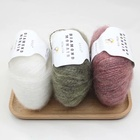 mohair yarn for knitting sweater wool for baby multi color
