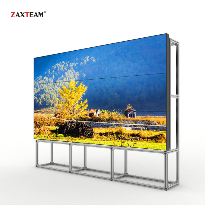 Billige Video Wand Lösung 43 zoll 8mm Lünette LCD Video Wand Digital Signage LCD Werbung Display