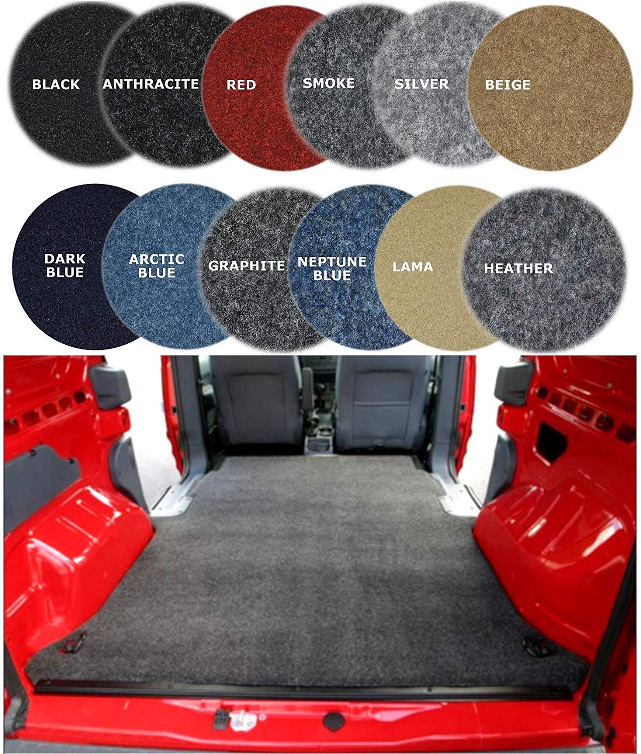 car dashboard cover nonwoven automotive felt fabric cover 4 Way Stretch Camper Van Lining Carpet car floor interior car carpet