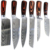2019 top quality Japanese steel chefs knife kitchen damascus chef knife knives