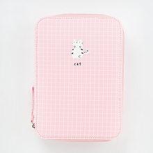 Корейский креативный канцелярский мешок для девочек и мальчиков, большая емкость, пенал, школьный чехол, 1 шт.(Китай)