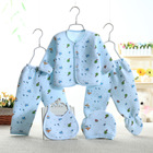 High quality wholesale boutique fall winter baby clothing new born baby gift set