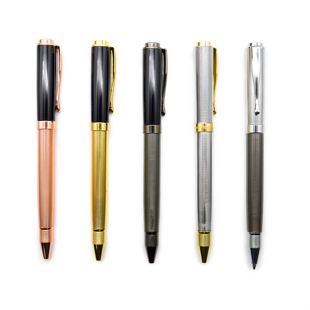 China Wholesale Promotion luxury advertising twist personalized business gift metal pen