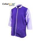 Custom polyester cotton long sleeve hotel housekeeping staff cleaning uniform