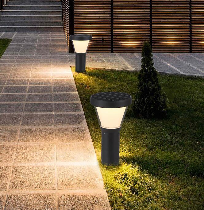 2019 Smart Warm White Led Decorative Garden Park Solar Lamps Outdoor Light Ce Rohs Home Lights Manufacturers