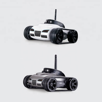 Newest Wifi 4 Channel Mini Real-time Transport Tanks Toy with Camera