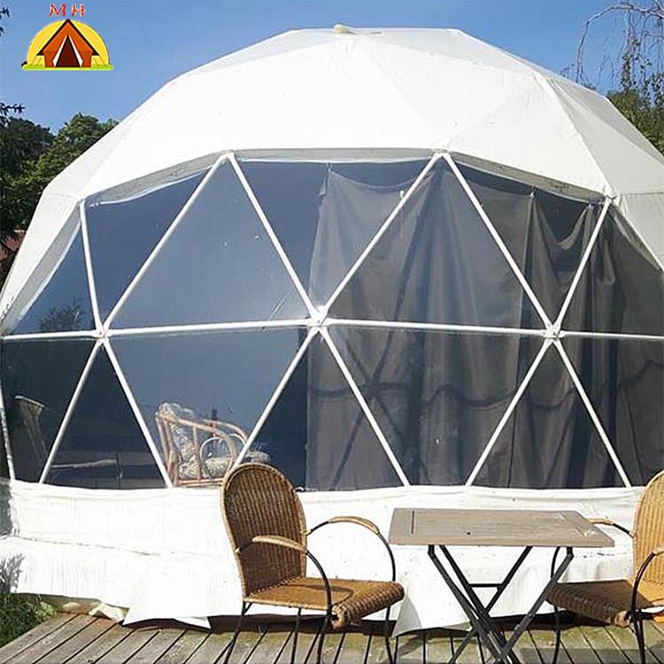 공장 가격 지오데식 유리 호텔 돔 텐트