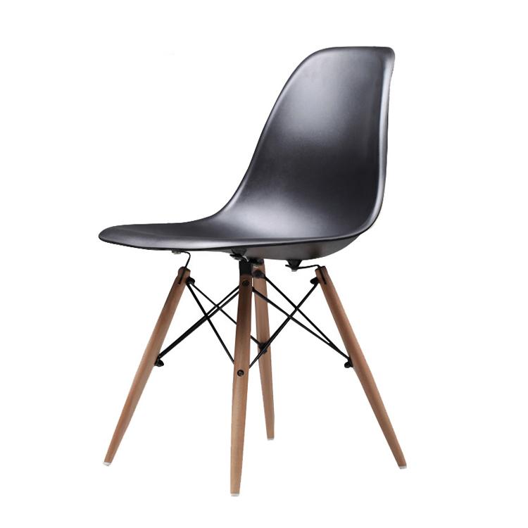 Großhandel Günstige Moderne Holz Neue Design Hohe Qualität Harte Dining Kunststoff Stuhl für Restaurant