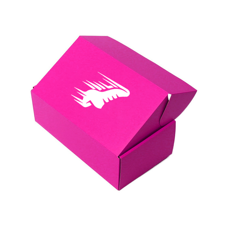 Custom Logo Foldable carton color packaging paper box corrugated Shipping Boxes for clothing And Shoes