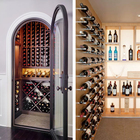 1 bottle deep wall-mounted wine rack peg/Wine Aluminum rod