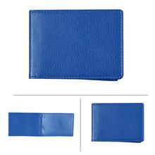 Однотонный чехол из искусственной кожи с водительским удостоверением для паспорта для документов, визитница для кредитных карт, папка для ...(Китай)