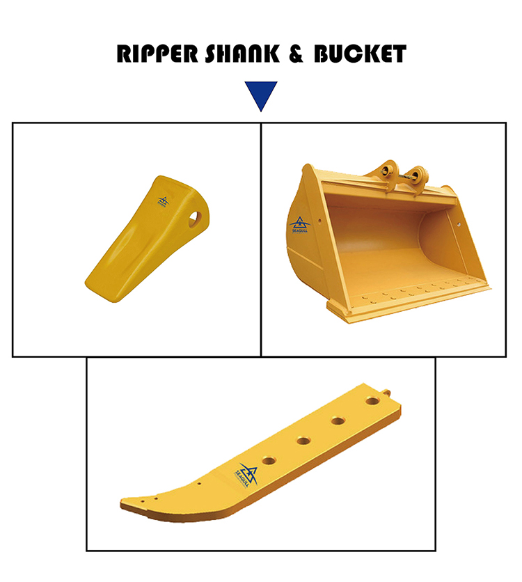 High quality D9N D10R bulldozer ropper shank 8E-5339