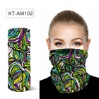Wholesale Stander Size Headwear Seamless Tube Bandana For Adult