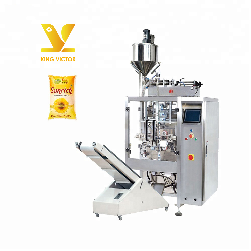 1 litre groundnut mustard cooking edible oil pouch packing packaging machine