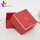 Factory Price Cheap Custom Eco-friendly Red Paper Packaging Box for Gift