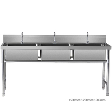 Dapur Stainless Steel <span class=keywords><strong>Sink</strong></span> Triple Mangkuk Hot Sale Komersial <span class=keywords><strong>Kitchen</strong></span> <span class=keywords><strong>Sink</strong></span>