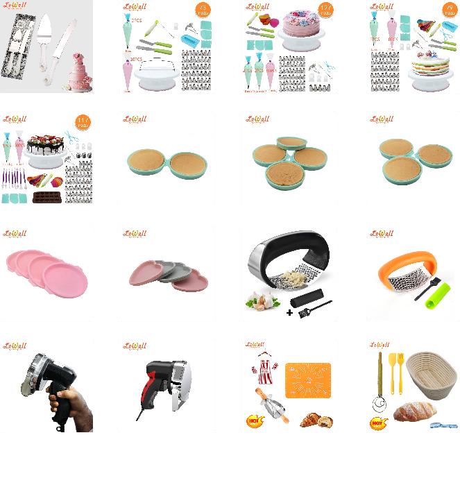 Amazon lieferant Silikon Große herz Kuchen Pan kuchen form silikon pfannen (SET VON 4)