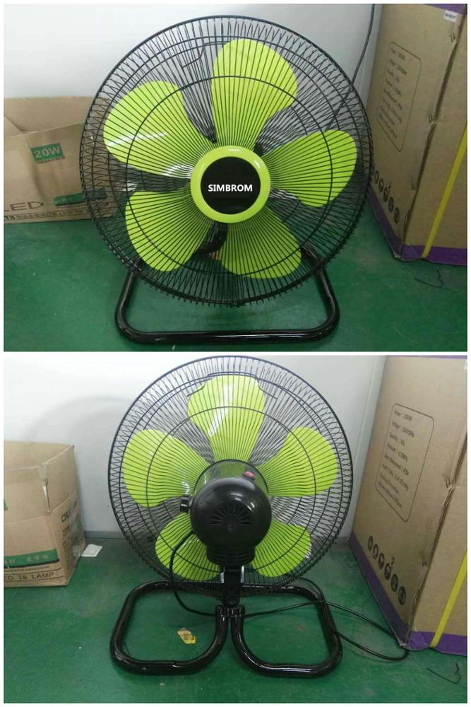 SIMBROM Hot sale 18 inch Electric stand/ wall/floor fan 3 in 1 industrial fan Aluminum blades