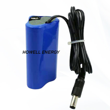 Howell Isi Ulang 1S3P 6000 MAh 22.2Wh Lithium <span class=keywords><strong>Ion</strong></span> 18650 Li Battery 3.<span class=keywords><strong>7</strong></span> V untuk Lampu Darurat