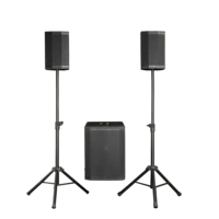 RQSONIC AC23 Unique New Modular Design 12'' Subwoofer High Power RMS 800W Pro PA System Active Column Speaker