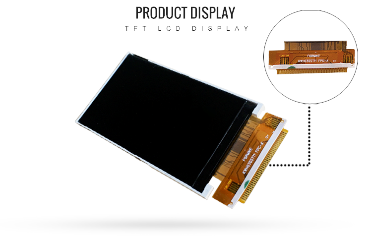 240x400 LCD Display 3.0 Inch Screen Displays