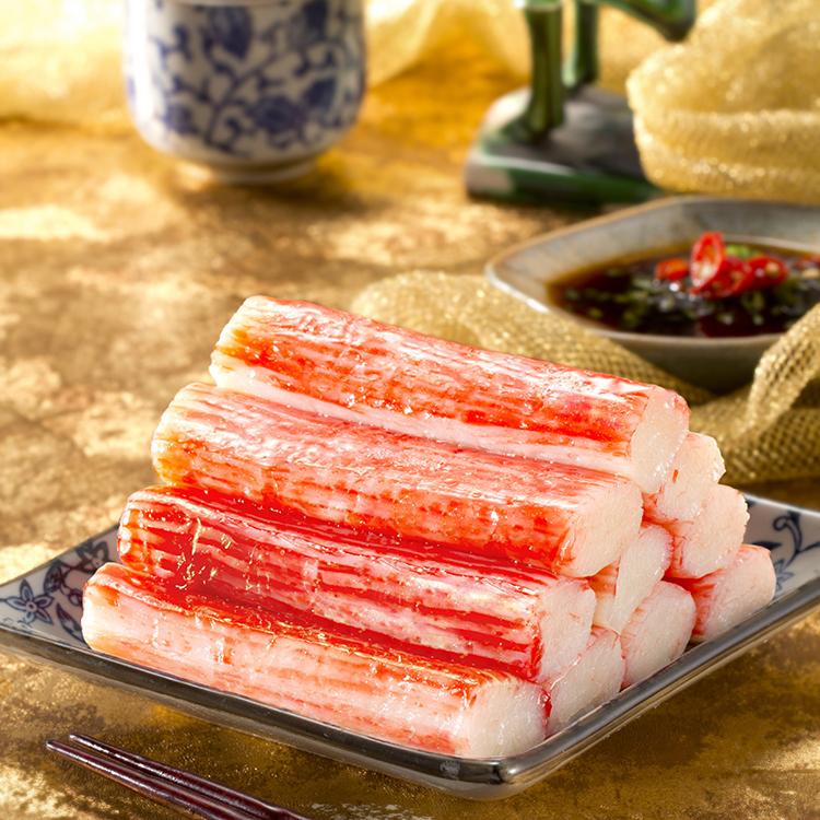 LICHUAN Frozen Surimi, Snow Crab Leg, Crab stick - High quality product