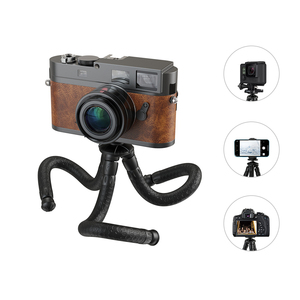 Flexible Adjustable Octopus Tripod with Detachable Arm For Iphone, Android Phone, Sports Camera