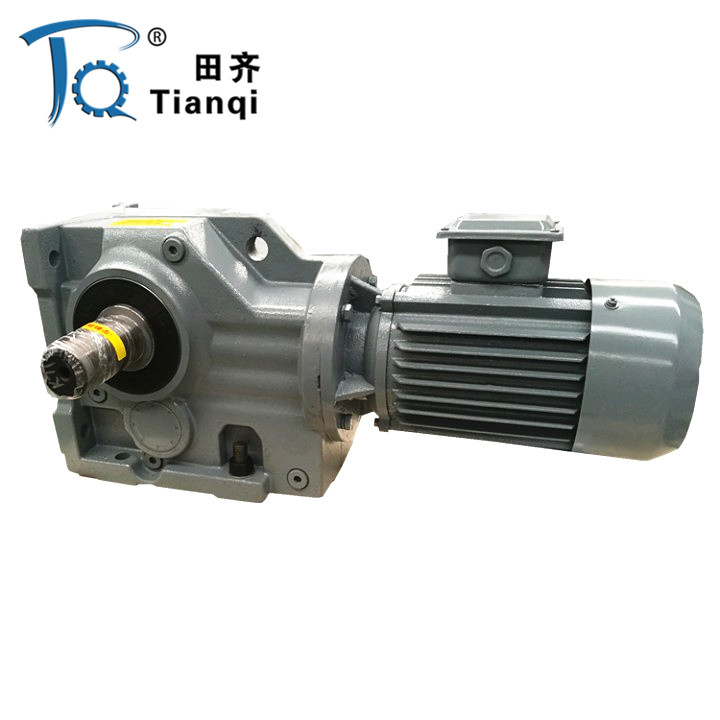 R RF K Series Helical Inline Electric Motor Reductor