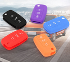 Rubber Key Cover Silicone Rubber Car Key Case Auto Key Bag Vehicle Key Cover