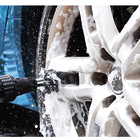 Water Powered Electric Water Flow Cleaning Brush Car Care Auto Wheel Washing Brush