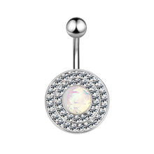 L. Mirror 2 шт пупка кольца Стразы пирсинг пупка пирсинг, Септум ювелирные изделия для тела шпилька штанга манометр женская мода(Китай)