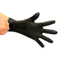 Gloves Hot Selling Cheap Black Smooth Embossing Household CPE Cleaning Gloves