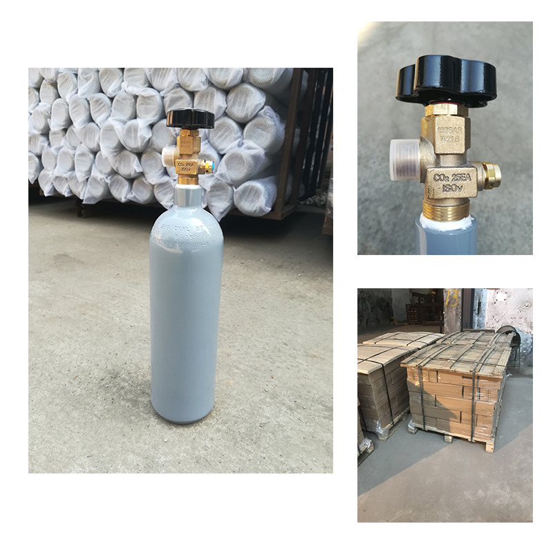 2l 4l 6l 8l 10l 40l 50l 150bar 200bar 250bar 300bar medical co2 gas cylinder bottle tank with ISO9809