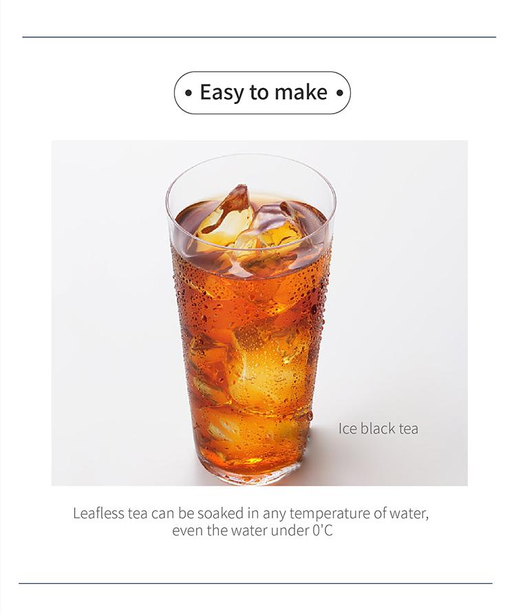 Good Taste Instant Black Tea extract Teabag soluble in cold water - 4uTea | 4uTea.com