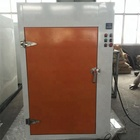 Electric heating system paint curing oven