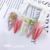 2020 new Japanese style nail gem colorful shiny fancy crystal butterfly 3d nail art nail decorations