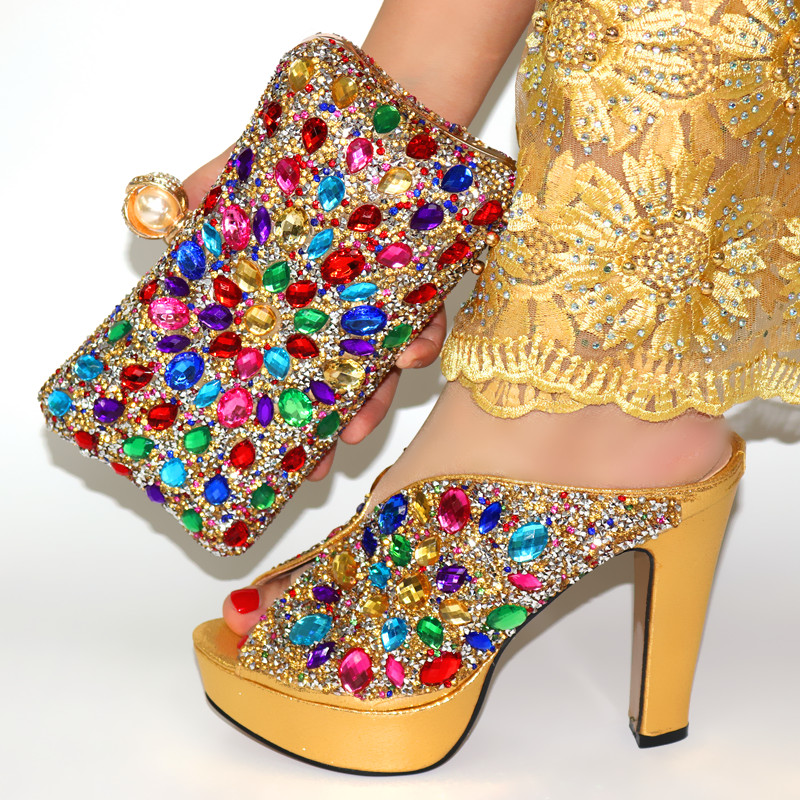 Kích Thước 38 Đến 42 Phụ Nữ Ý Giày Thương Hiệu Bán Buôn Phù Hợp Với Giày Và Túi Xách Ví Cầm Tay Trung Quốc