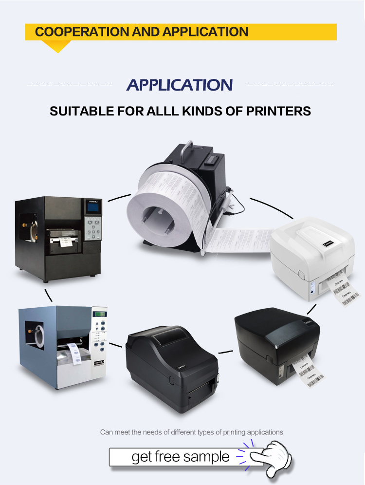 Easy to use Barcode Label Rewinder for small thermal printer