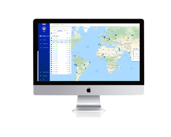 WanWayTech Succinct and Beautiful GPS Tracking Software WanWanTrack with Google Map.