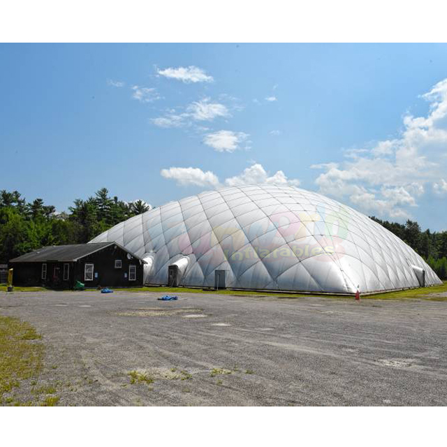 Commercial inflatable sport dome event tent inflatable pvc air dome for tennis